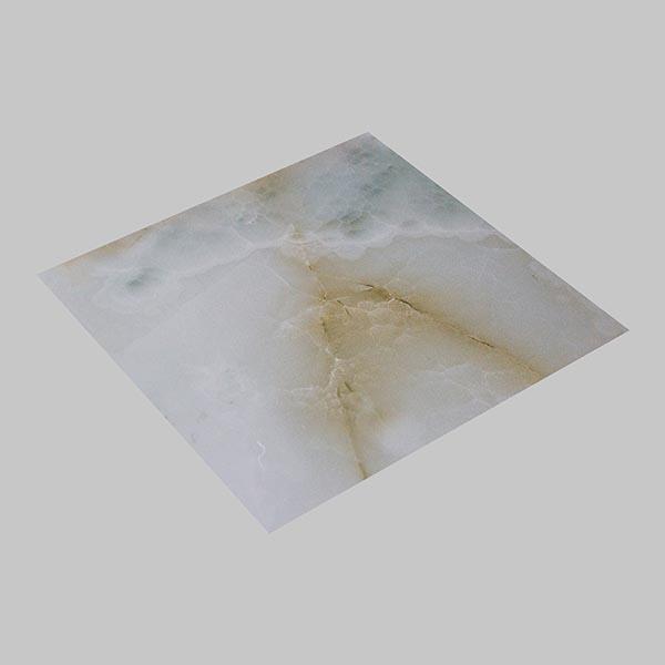 Белые тени - Пластиковая панель под мрамор в Алматы от MaxStone