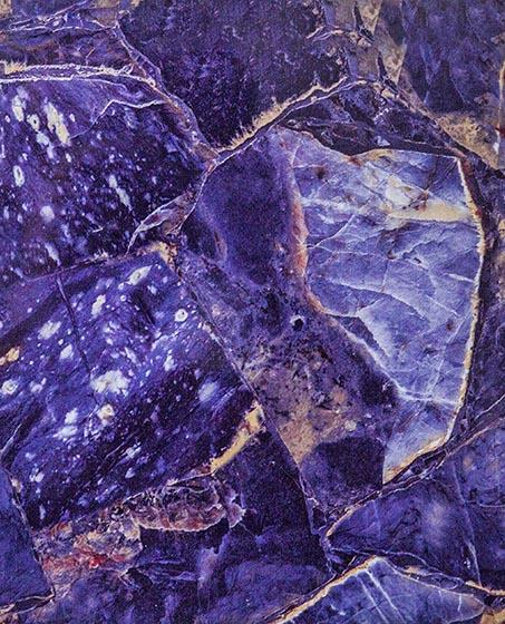 Фиолетовый агат - Пластиковая мраморная плита в Алматы от MaxStone