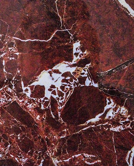 Красный каррара - Пластиковая мраморная плита в Алматы от MaxStone