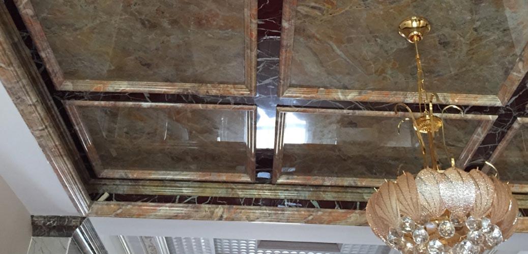 Помещения из пластиковой панели под мрамор - Мраморная плита в Алматы от MaxStone