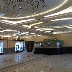 Мраморная плита в офисе - Листовая панель под мрамор в Алматы от MaxStone