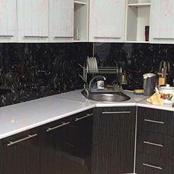 Кухня из панели под мрамор - Мраморная плита в Алматы от MaxStone