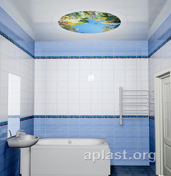 Афалины - Декоративный влагостойкий потолок от MaxStone в Алматы