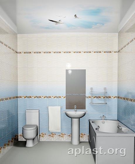 Чайки - Декоративный влагостойкий потолок от MaxStone в Алматы