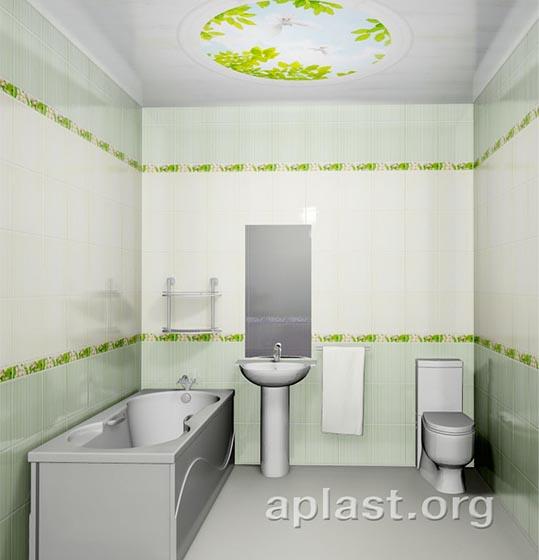 Голуби - Декоративный влагостойкий потолок от MaxStone в Алматы
