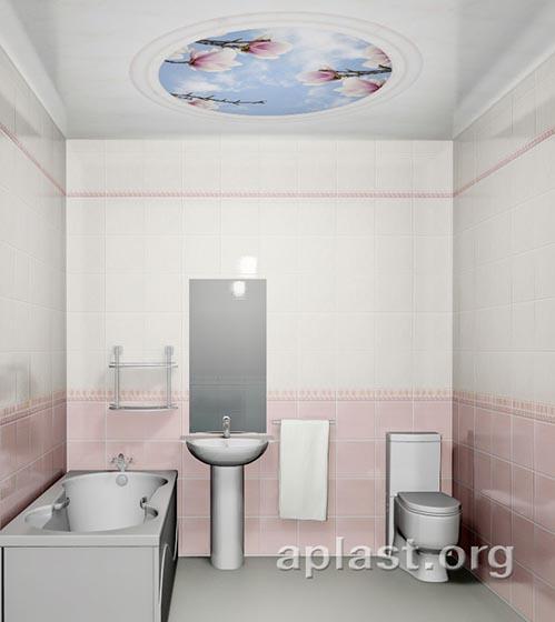 Магнолия - Декоративный влагостойкий потолок от MaxStone в Алматы