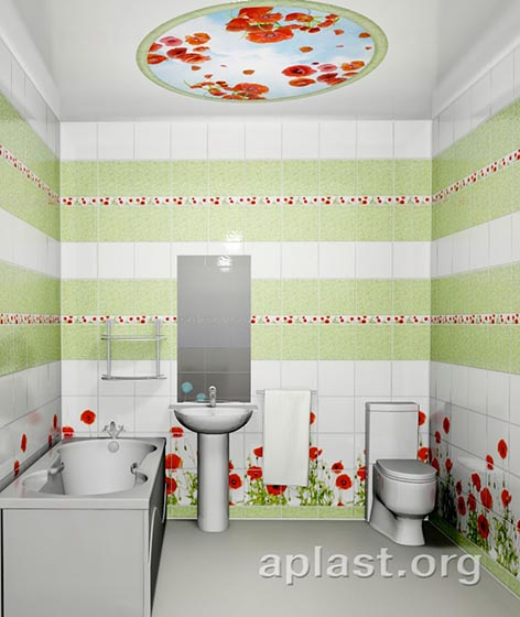 Мак - Декоративный влагостойкий потолок от MaxStone в Алматы
