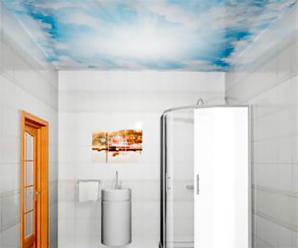 Облака - Декоративный влагостойкий потолок от MaxStone в Алматы