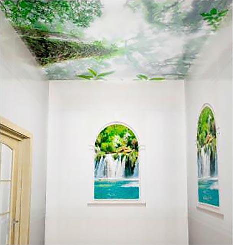 Туман - Декоративный влагостойкий потолок от MaxStone в Алматы