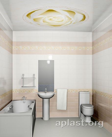 Вальс - Декоративный влагостойкий потолок от MaxStone в Алматы