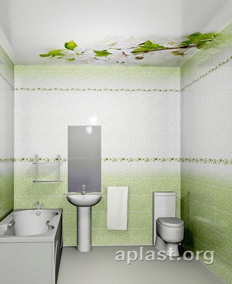 Вишня - Декоративный влагостойкий потолок от MaxStone в Алматы