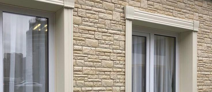 Купить Фасадный декор для обрамления окон и дверей от MAXstone Алматы