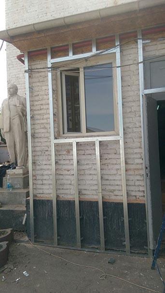 Внешний фасад Тимберблок (Timberblock) в Алматы MAXstone