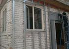 Монтаж дома Тимберблоком (Timberblock's) в Алматы MAXstone