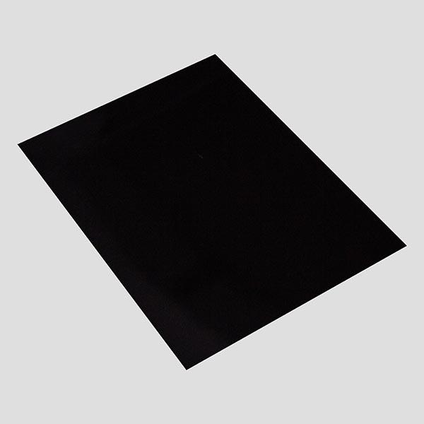Черный глянец - Ламинированные шпоны для мебели и дверей в Алматы